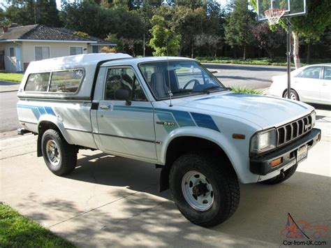 1983 Toyota Bed 1983 Toyota Tacoma Sr5 4x4 Bed Truck