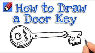 How To Draw A Easy How To Draw A Door Key Real Easy For And Beginners