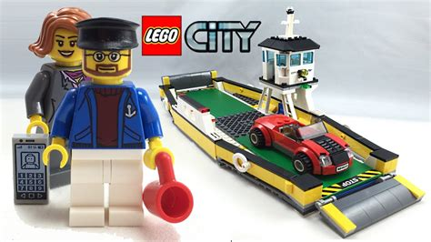 Lego 60119 Ferry City lego city ferry set review 60119
