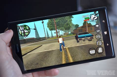 gta san andreas free for android phone gta san andreas arrives on windows phone just a month after ios and android the verge