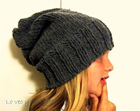 gorrosdos agujas on pinterest tejido tejidos and sombreros 10 gorros tejidos a dos agujas para mujeres gorros tejidos