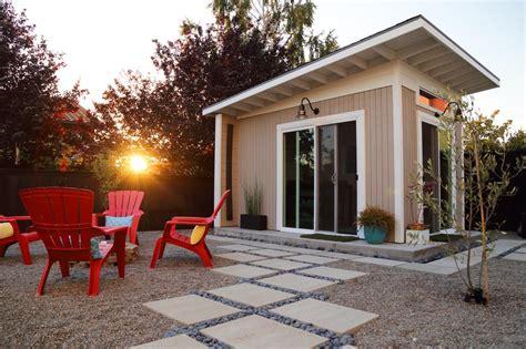 build a backyard studio concrete backyard ideas hgtv s decorating design blog