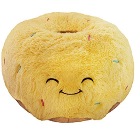 squishable comfort food toast squishable glazed donut an adorable fuzzy plush to