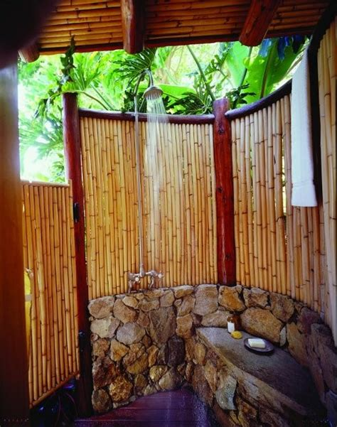 outdoor bamboo shower 1000 images about outdoor showers and tubs on