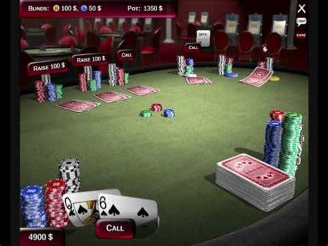 poker  texas holdem deluxe  pc youtube