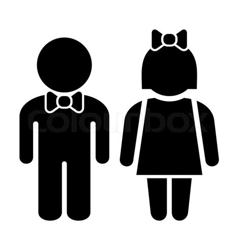 man and woman bathroom sign man and woman icons toilet sign restroom icon vector