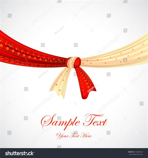 Marriage Weds Logo by Illustration Hindu Wedding Knot Stock Vector