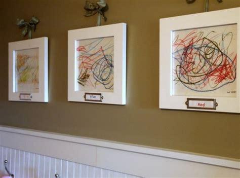 ways to display artwork 20 interesting ideas to display kids artwork kidsomania