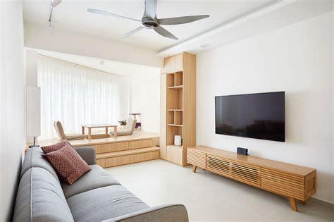 hdb flat inspired   japandi style