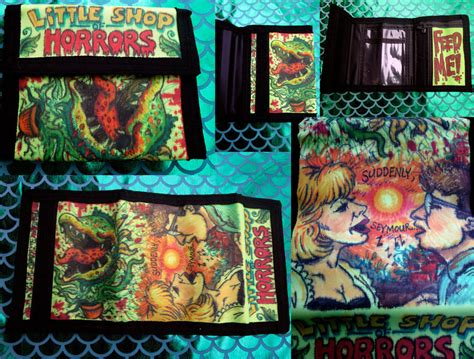 doodle shop doodle wallet shop of horrors by whyamitheconvict