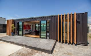 40 shipping containers converted into a house