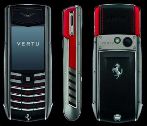 vertu phone ferrari vertu launches special edition ferrari ascent ti phone