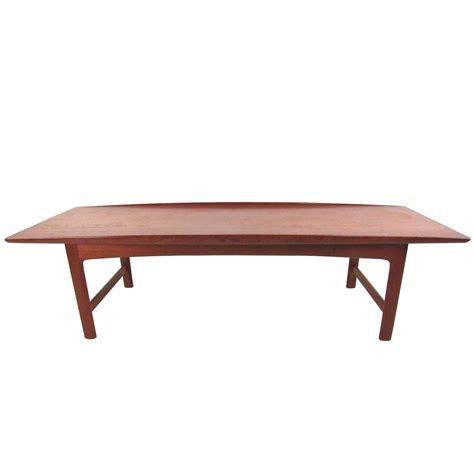 Modern Teak Coffee Table Mid Century Modern Teak Coffee Table By Dux For Sale At 1stdibs