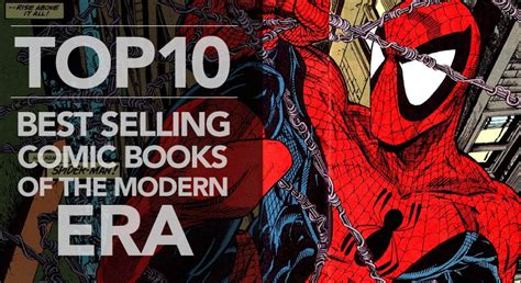 the era books top 10 best selling comic books of the modern era zap kapow