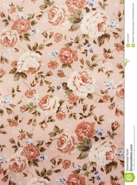 Classic Flower flower printed clothes royalty free stock photography
