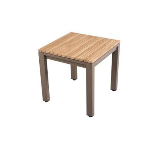 Home Depot Patio Accent Tables Hton Bay Barnsdale Teak Patio Accent Table Ktmt 1841