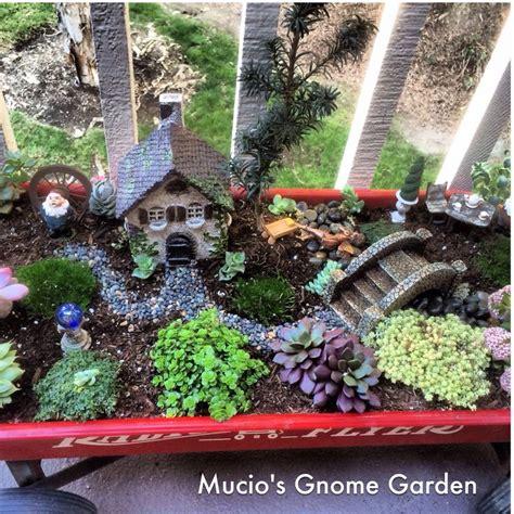 fairy garden gnome garden fairy gardens pinterest