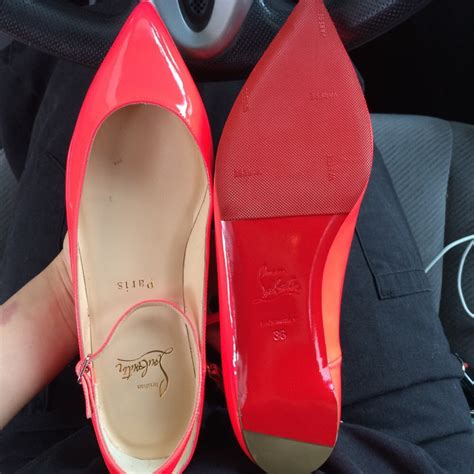 Christian Louboutin Sneaker Sole Guard by Sole Protectors On My Christian Louboutin Flats Yelp