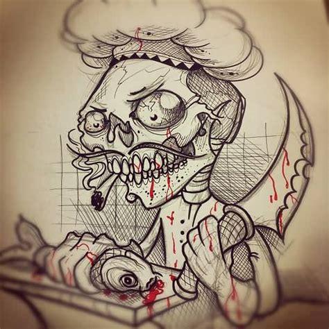 chef tattoo designs 20 amazing chef designs