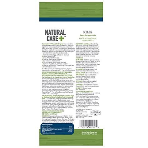 natural flea spray for house natural care tick and flea spray for your dog and cats