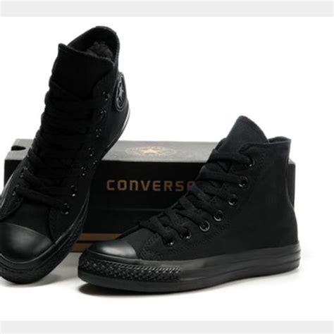 Converse Shoes High Black converse shoes black high tops studio 103 co uk