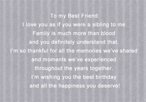 Happy Birthday Quotes For Your Best Friend Happy Birthday Quotes For Your Best Friend Tumblr Image