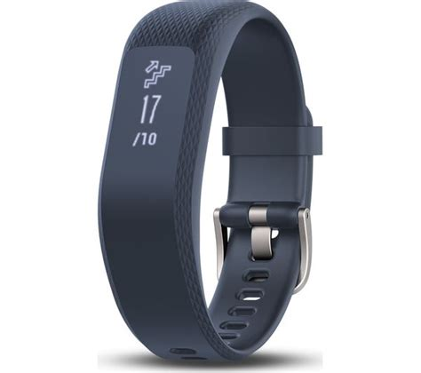 Garmin Vivosmart 3 buy garmin vivosmart 3 blue small free delivery currys