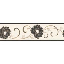 decor florentina wallpaper border black