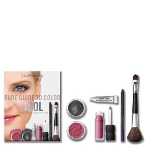 Bare Mineral S Bare Guide To Color Cool Pink Q 2 Bareminerals Bare Guide To Color Cool 6 Products