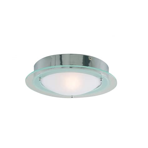 Glass Lipped Opal Bathroom Ceiling Light Ceiling Lights