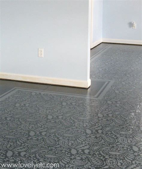 painted flooring amazing painted plywood subfloor a how to