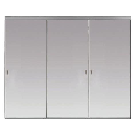 wood 3 panel sliding door 9068 84 x 80 sliding doors interior closet doors the