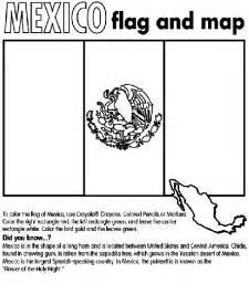 mexican flag coloring page mexico coloring page crayola