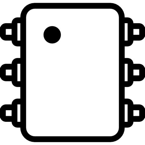 integrated circuit icon circuit free icons