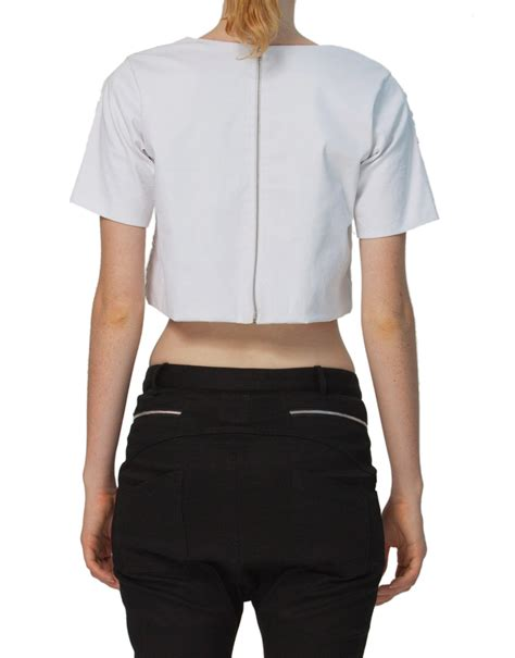 white beaded crop top state of pagan embroidered beaded crop top white