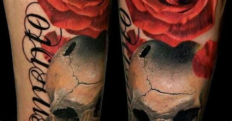 very realistic skull tattoo make your mark pinterest