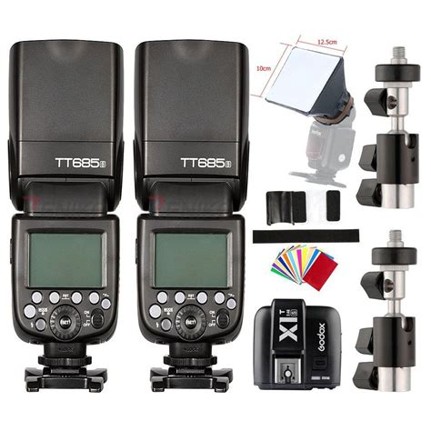 Godox Tt685s Ttl Speed For Sony With Godox X1t S Trigger 2pcs godox tt685s ttl hss speedlite flash x1t s flash trigger for sony godox canada