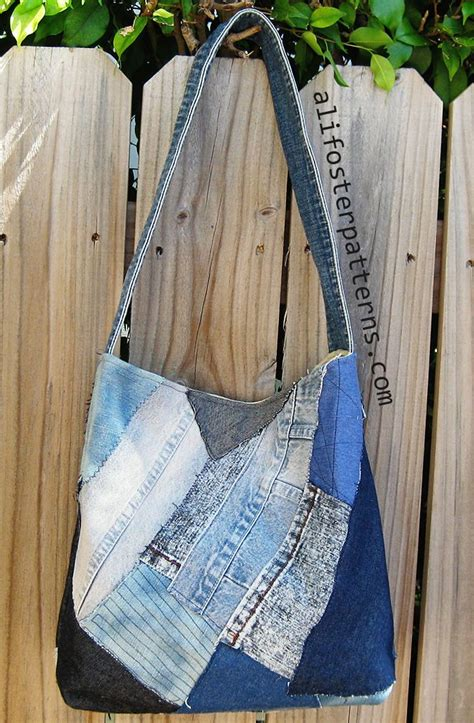 Denim Patchwork Bag Patterns Free - 33 best images about sewing totes on bags