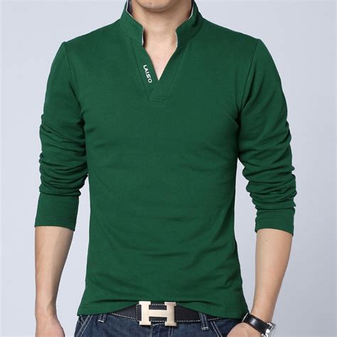 2015 new brand dress shirts 2015 new fashion brand clothes solid color sleeve camisetas slim fit t shirt jpg