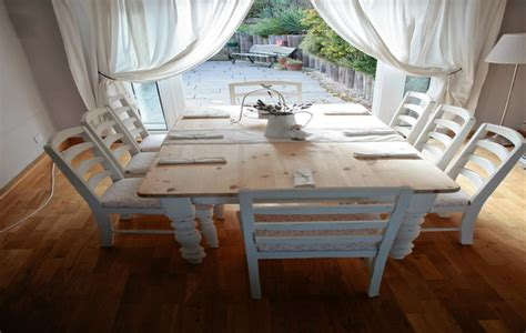 rustic chic dining table rustic shabby chic dining room tables