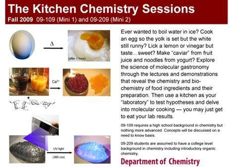 Kitchen Chemistry Experiments Ppt Lthforum The Kitchen Chemistry Sessions