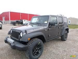 2016 granite metallic jeep wrangler unlimited