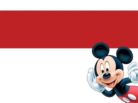 Cartoon Mickey Mouse Ppt Template Ppt Disney Powerpoint Template Free