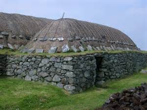 Free Standing Islands For Kitchens free stock photo of traditional blackhouse on the hebrides