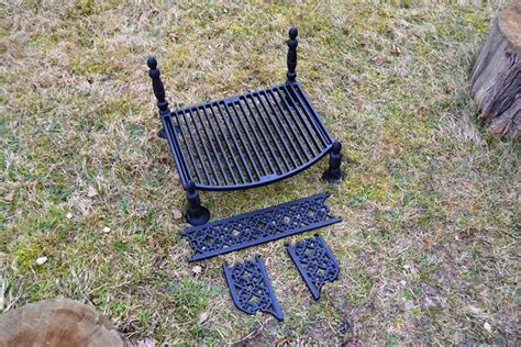 pit grates cast iron 51 x 40 cm bbq barbecue grate grill cast iron outdoor