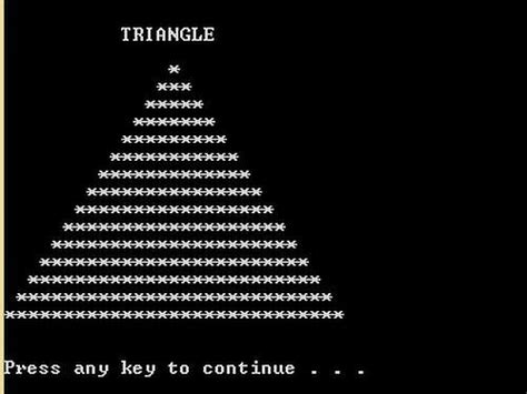 free programming source codes to all triangle pattern in java free programming source codes to all triangle image in c