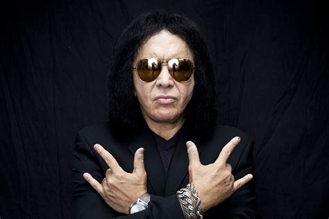 Gene Simmons gene simmons if i could i would trademark the air