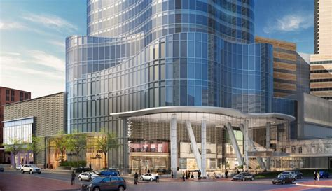 glass atrium proposed for 100 federal st boston herald copley place tower back bay condos