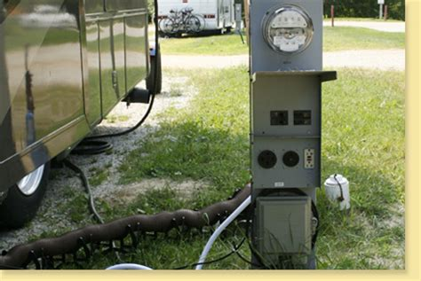 rv electrical hookups huron county parks