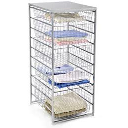 mesh closet drawers elfa mesh start a stack dresser closet drawers from the